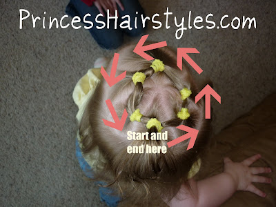hairstyle instructions for baby