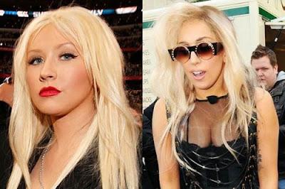Christina Aguilera And Lady Gaga
