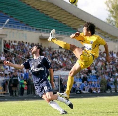 Accidentes deportivos - Fútbol