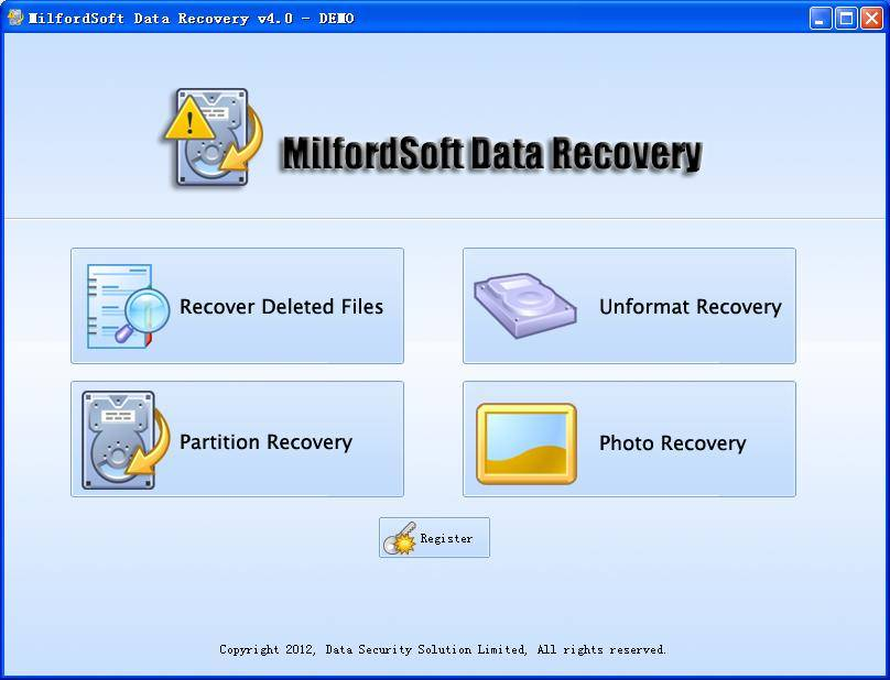 MilfordSoft Data Recovery 4.0 Technician (FULL + Crack)