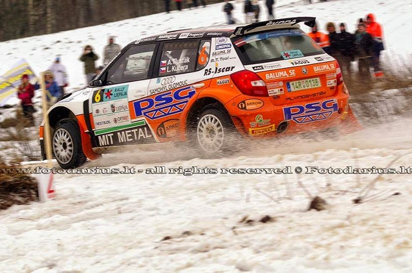 ERC Rally Liepāja 2015