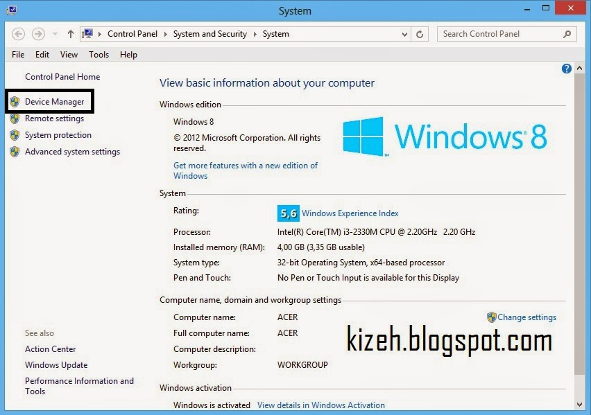 cara update driver pada windows
