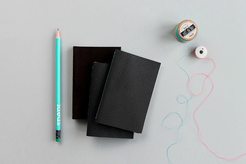 Mini Leather Notebook DIY