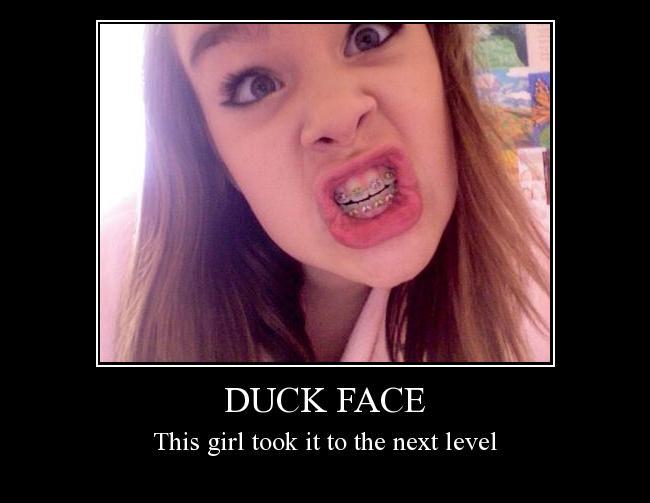 duck lip quotes