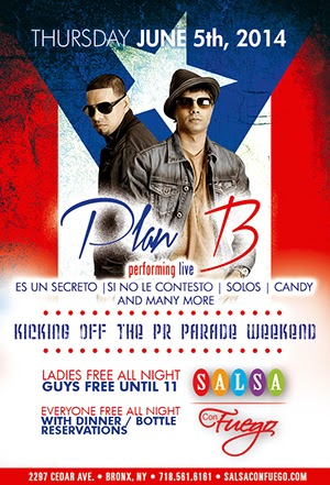 Plan B - Salsa con Fuego - June 5, 2014