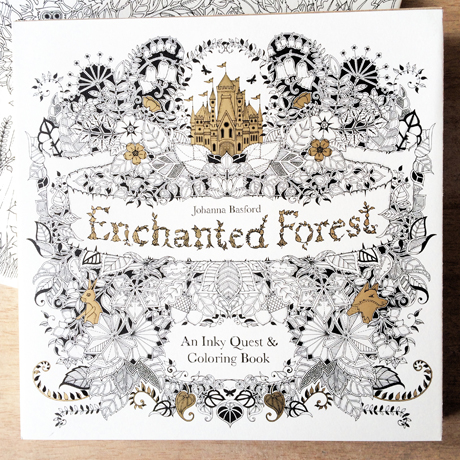 SnCs CROPmmunity SOLD OUT Enchanted Forest By Johanna Basford In