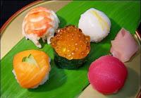 Japanese Menu Temari Sushi