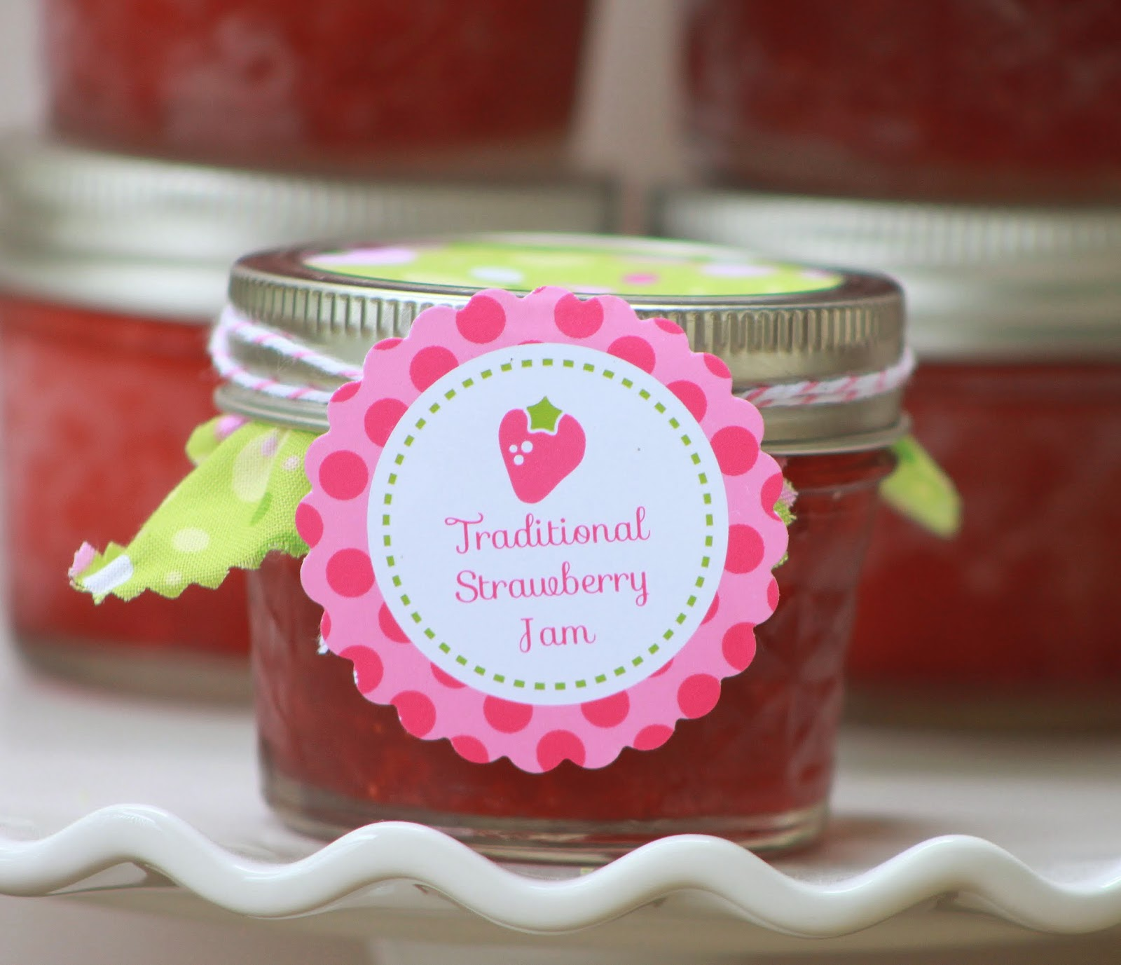 Recipes} Strawberry Balsamic Jam and Traditional Strawberry Jam ...