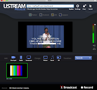 ustream producer streaming church worship