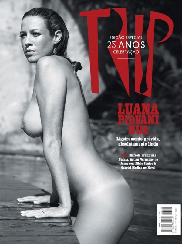 Veja A S Fotos De Luana Piovani Nua Na Revista Trip Vania Guerra