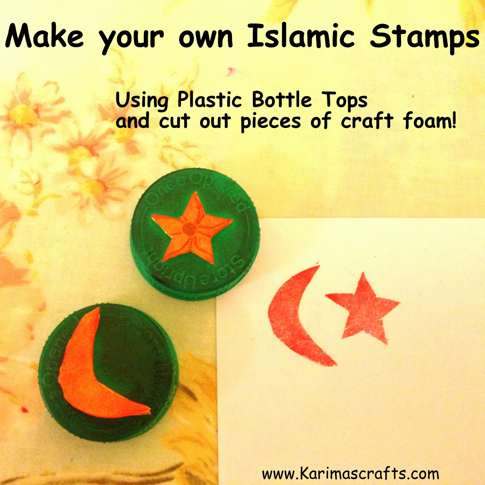 ramadan crafts extra Muslim Islamic stamps