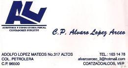 CP ÁLVARO LÓPEZ  ARCEO