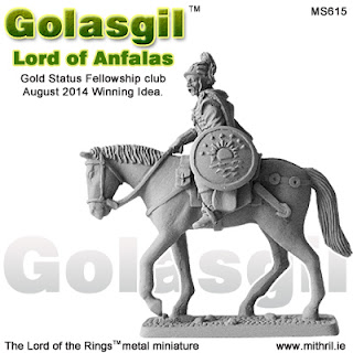 Golasgil, Lord of Anfalas | New Mithril Miniature