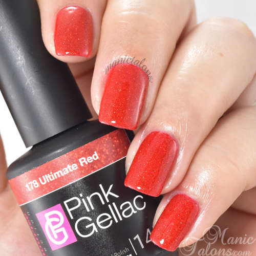 Pink Gellac Ultimate Red