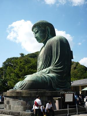 Statuo de Budho ĉe Kamakura.