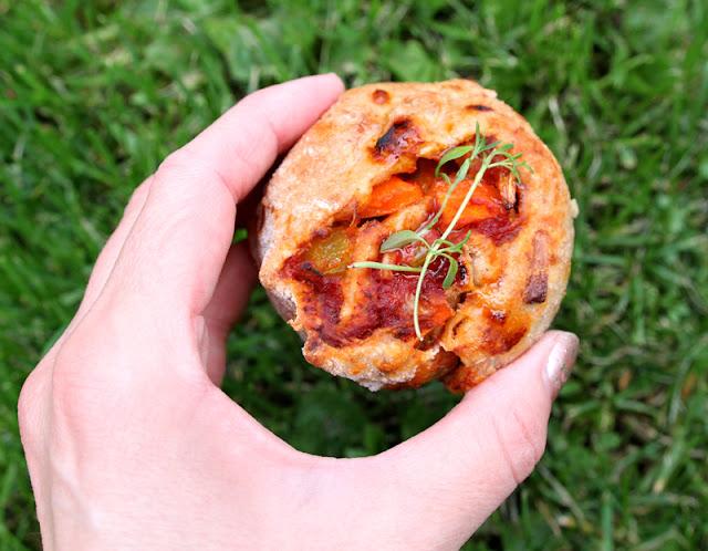 Oppskrift Grove Grønnsaksnurrer Sunne Pizzasnurrer Vegetar