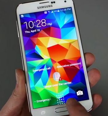 Download Screenlock Samsung Galaxy S5