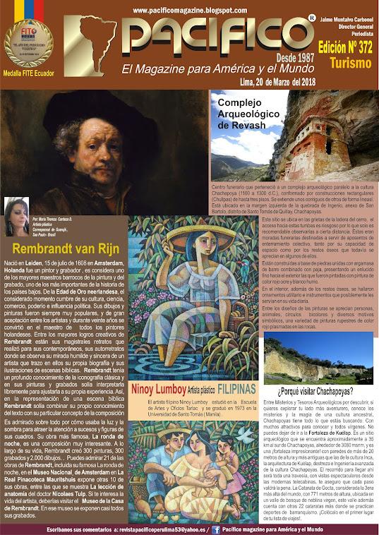 Revista Pacífico Nº 372 Turismo
