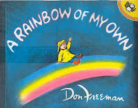 Preschool rainbow books and activities for March