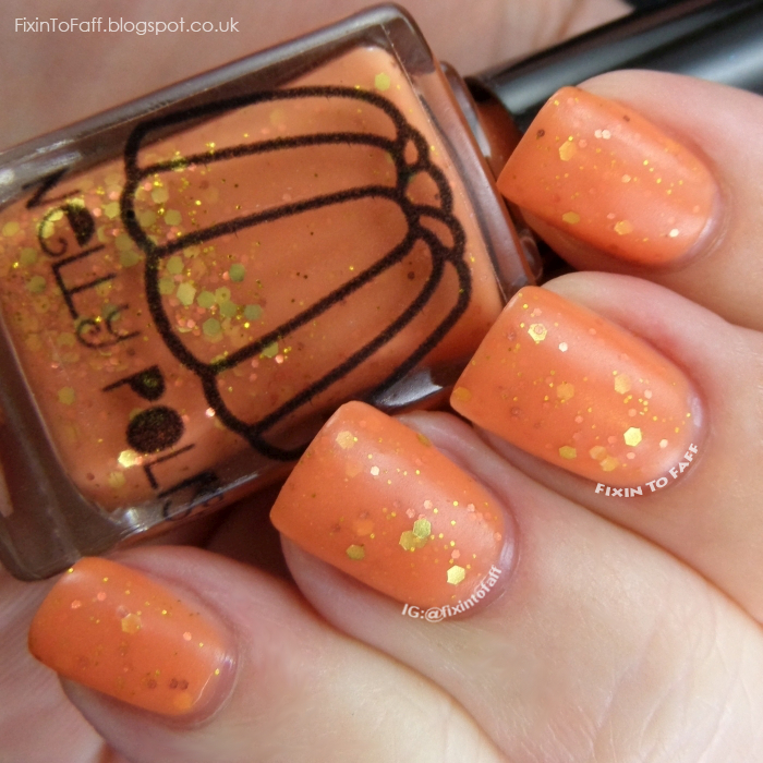 Swatch of Nelly Polish Polperro.