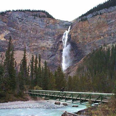Cachoeira Takakkaw – Canadá