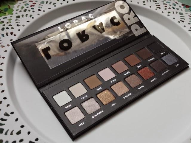 Lorac Pro Palette-inside