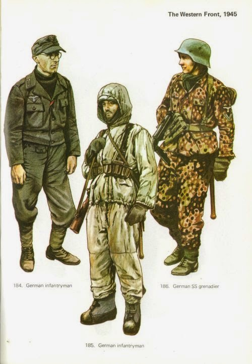 Late War German Infantry Uniforms Pictures 4