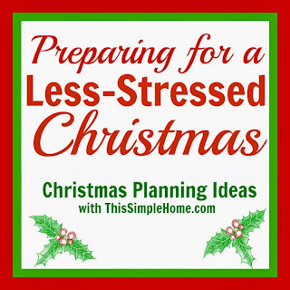 Plan now to have a less-stressed Christmas.