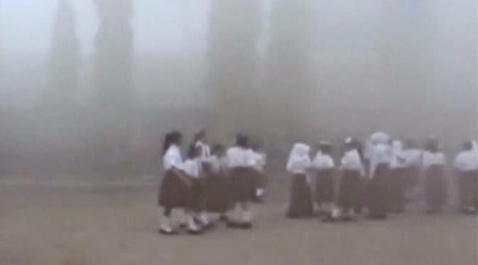 Palangkaraya Dikepung Kabut Asap, Jarak Pandang Hanya 400-600 Meter