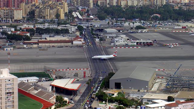 aeropuertos peligrosos: Gibraltar