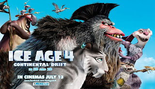 Ice Age Continental Drift 2012 Movie Characters HD Wallpaper