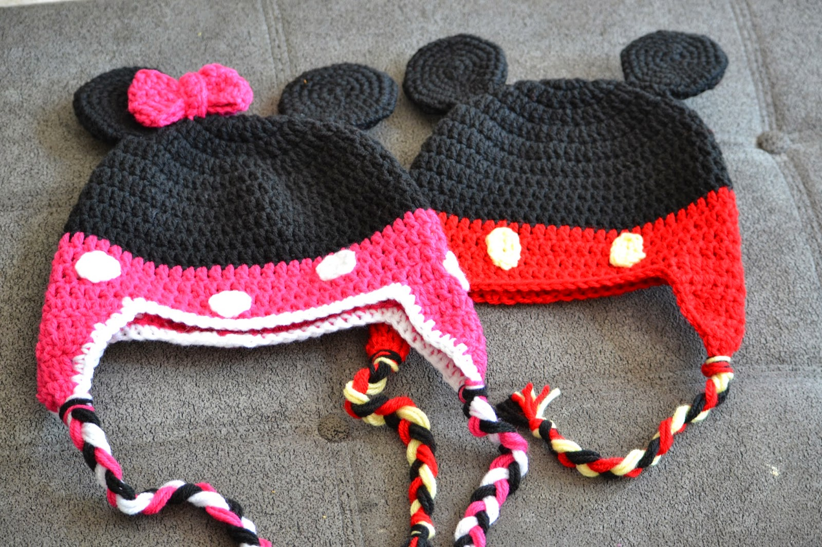 Crochet Pattern Mickey Mouse Shoes Joy Studio Design ...