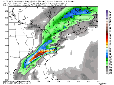 Very heavy rains appear to be in the forecast for the Southeast