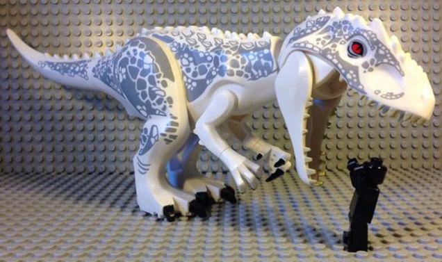 velociraptor lego leke