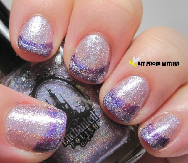 more Purple Roses on the tip made it look like three different purple holos