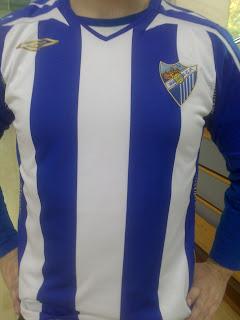 Camiseta del Málaga, Umbro