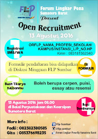 Open Recruitment FLP Sumbar