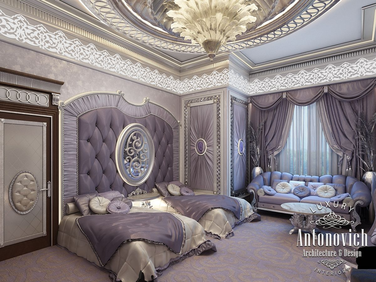 Beautiful dressing room design in dubai by luxury antonovich design - Luxury Antonovich Design Uae