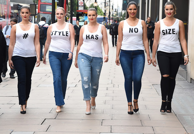 Is plus size equal seeing spots if style has no size then why are all 5 girls who were chosen not all different sizes why were they all similar heights well the answer is they chose to publicscrutiny Gallery