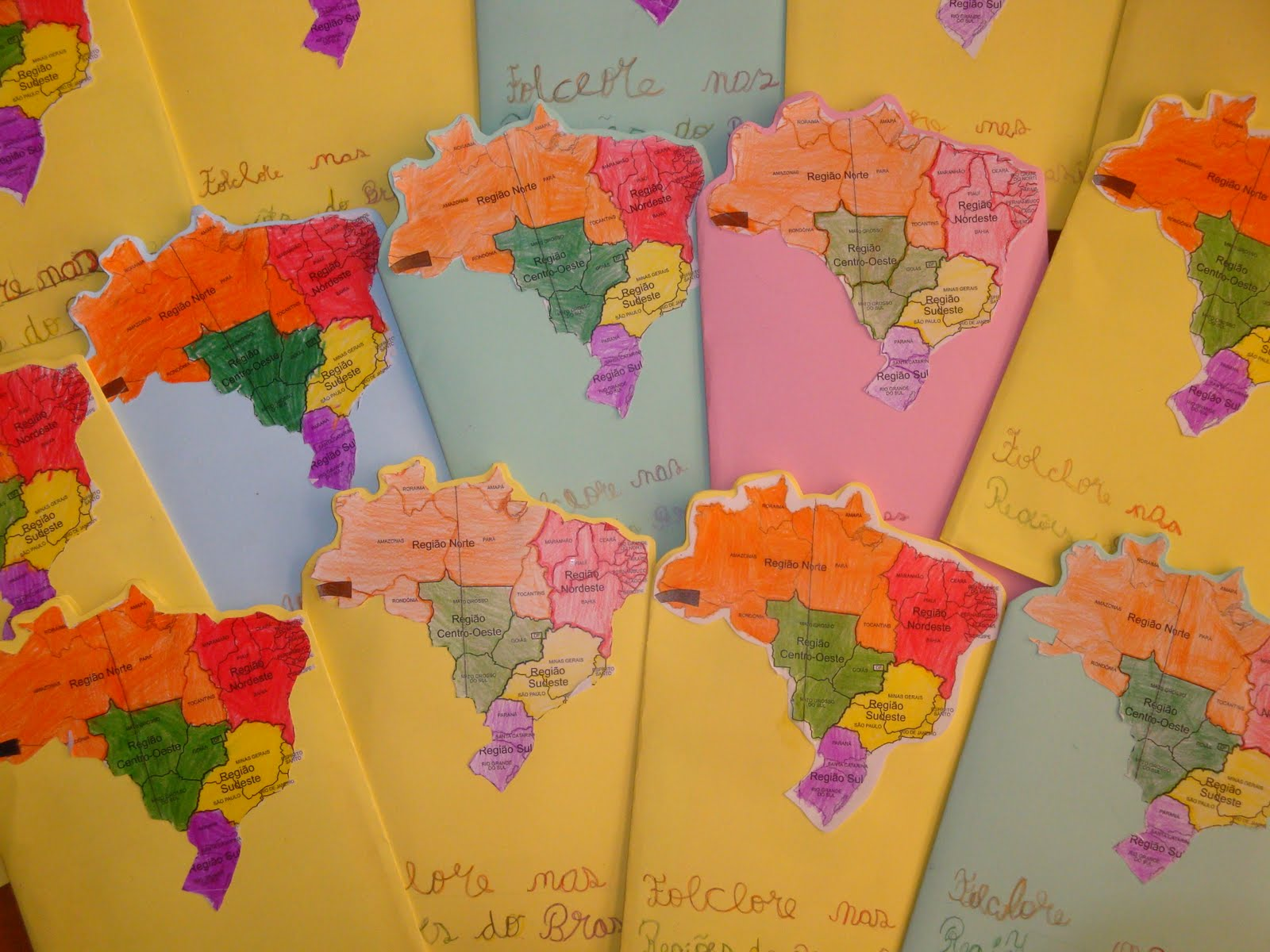 Projeto  Folclore: Conhecendo as regiões do país através da música #B93312 1600 1200