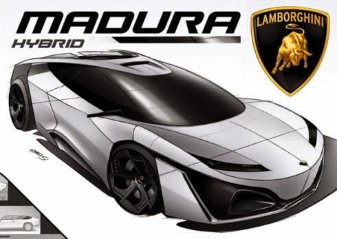 Lamborghini Madura concept of Lambo for 2018