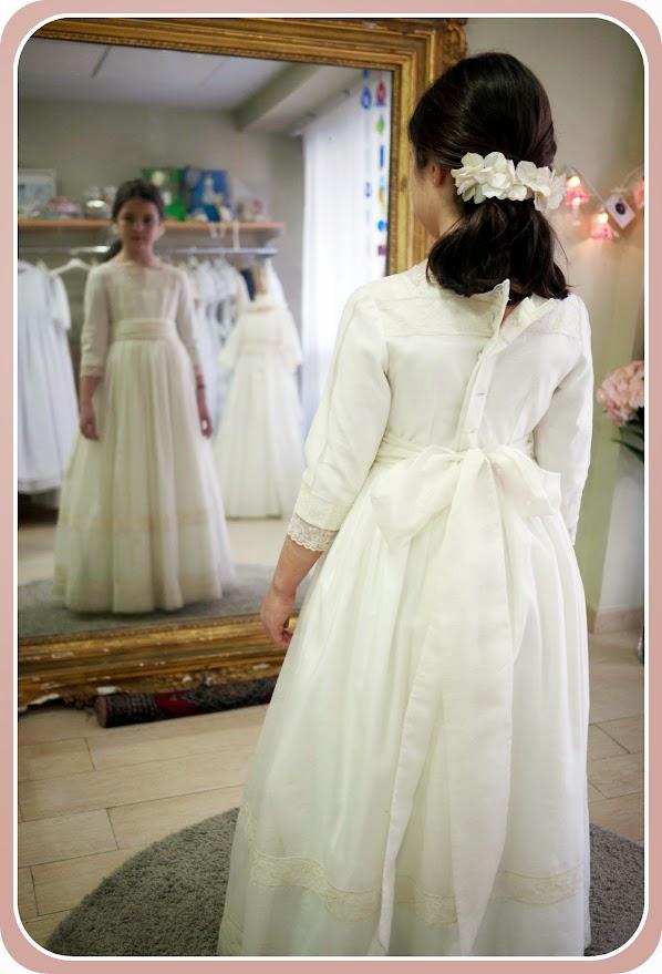 Vestido de comunión de Leonor y Sofía