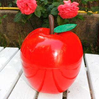 Pomme à glaçons rouge - Années 70