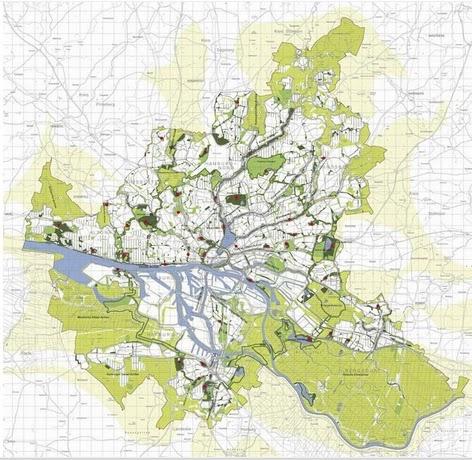 Plano de Hamburgo. Fuente: Archdaily
