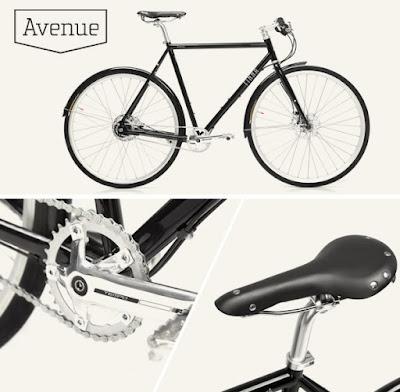 Bicicleta urbana, Finna Avenue para el día a día.