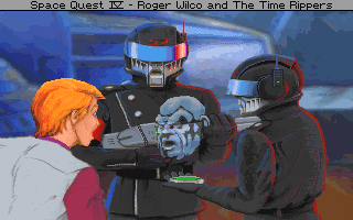 Gaming After 40 Adventure Of The Week Space Quest Iv Roger Wilco And The Time Rippers 1992