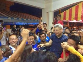 Datuk Mah Siew Keong Tewaskan Dyana Sofya PRK Teluk Intan