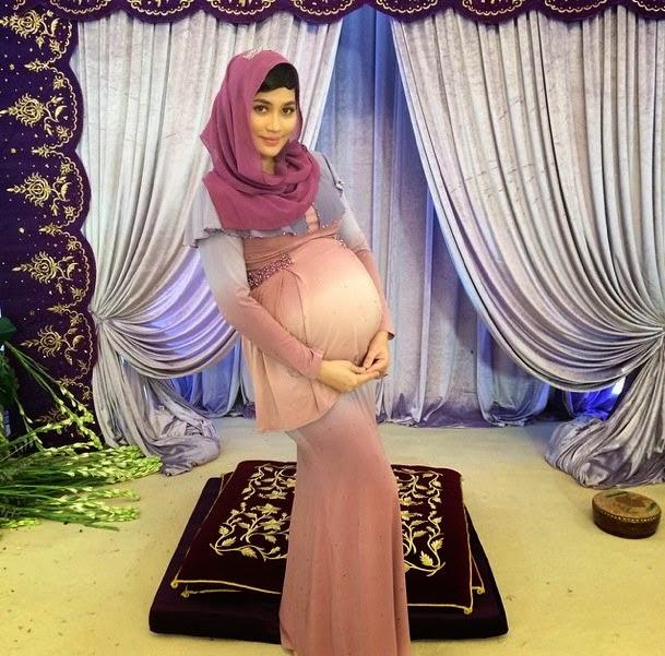 Wow Besarnya Baby Bumb Fasha Sandha