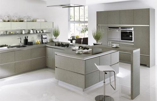 Decora y disena 6 dise o de cocinas modernas con varios - Cocinas espectaculares modernas ...
