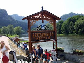 Szczawnica - przystań końcowa spływu Dunajcem